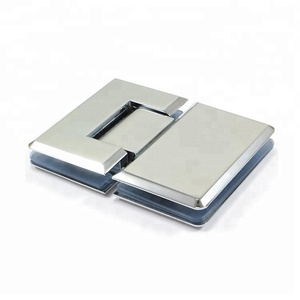 Stainless steel 180 degrees bevel edge bathroom shower door hinge