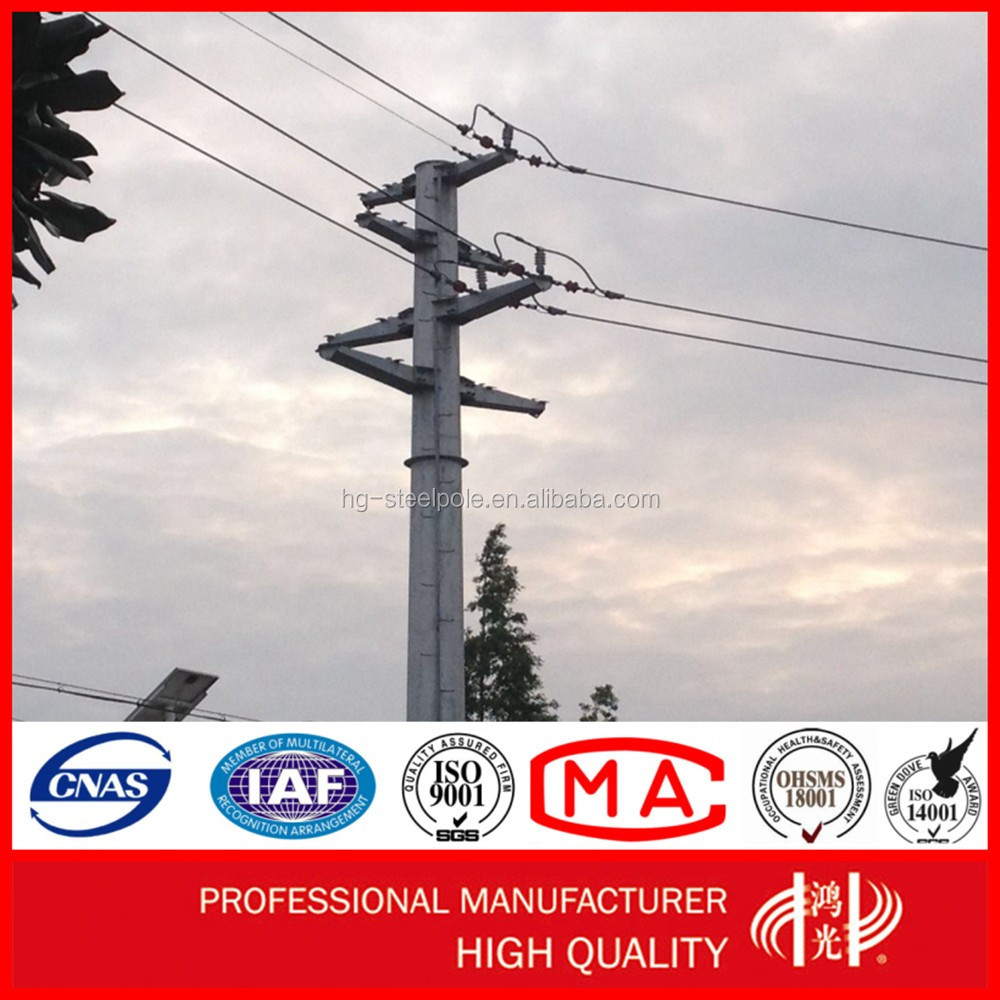 110KV to 500KV Transmission Electric Steel Lattic Tower