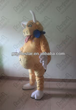 quality EVA head adult size bull mascot costumes for party