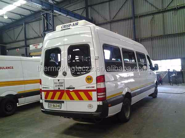 28 passengers ambulance roof mounted air conditioner