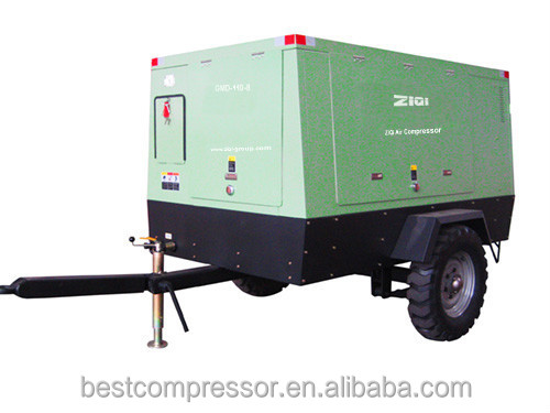 better than Kaishan portable diesel screw air compressor