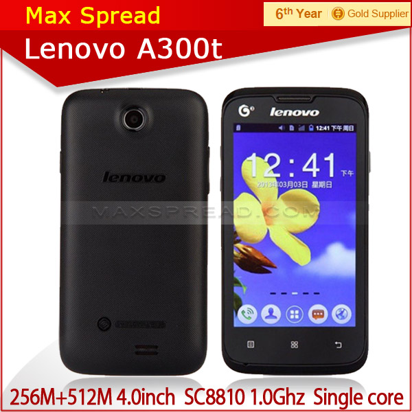 Lenovo A300T SC8810 1.0GHz Single Core Android 2.3 3G Smartphone low price china mobile phone