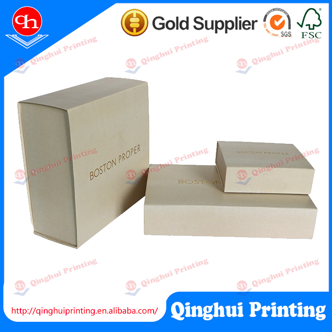 Wholesale China factory cardboard jewelry watch folding paper gift box with foam insert for wedding souvenirs