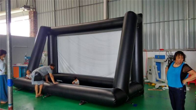 Outdoor Advertising Inflatable Projector Screen ,inflatable rear projection screen/banner