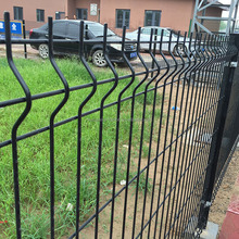 ISO9001 Curved Welded Wire Mesh Fence