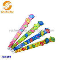 stainless steel 4pcs high quality hot sale eyebrow tweezer printed fish