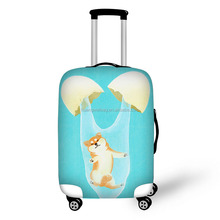 Cool Spandex Elastic Travel Luggage Dust Cover Suitcase Protector