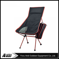 New Lengthen and large Moon recliner chair outdoor ultralight folding chairs fishing chairs with pillow