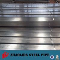 hollow metal tube ! 38x38 gi hollow section 50x70 galvanized square steel pipe