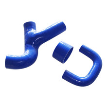 high quality silicone cooling water hose for SUBARU IMPREZA SILICONE Y-PIPE WRX GC8 TOP MOUNT VER.3-6 96-00 NON STI