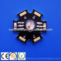 3w RGB high power led chip with 6 feet