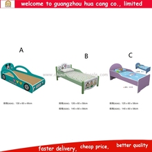 Top selling kids racing car bed children bedroom furniture baby single bed