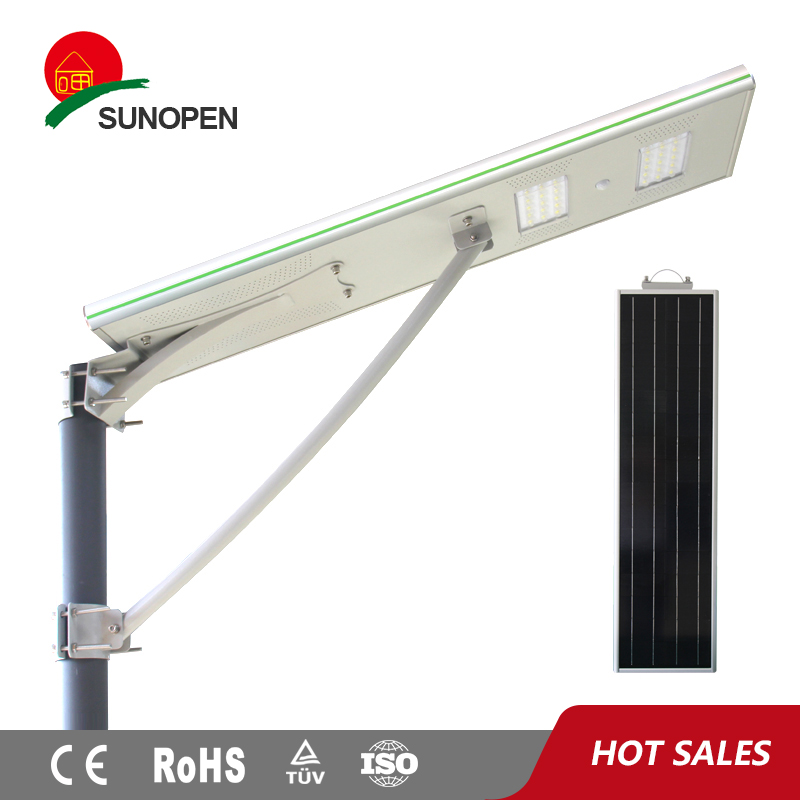 Easy install 30w solar street light price list, solar street light head
