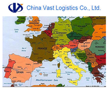 Logistics agent door to door from Shenzhen Guangzhou Shanghai Qingdao Ningbo China to Israel Ashdod shipping services