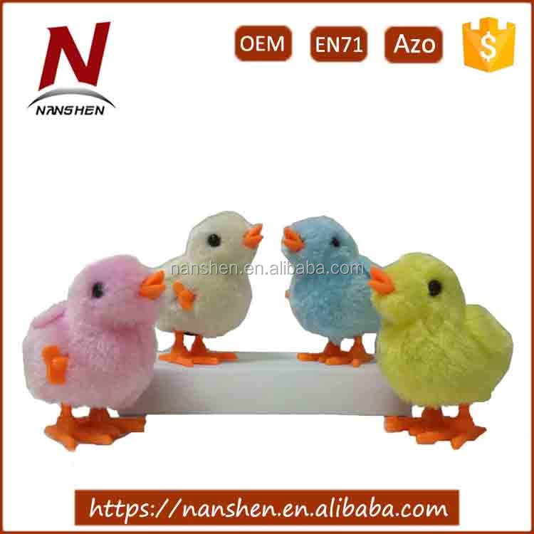 Lovely wind up chicken wholesale baby toys plush