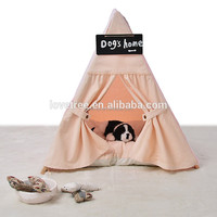 Pets Canvas Play Teepee Indoor Wigwam Tent Playhouse Sleep Over Toy