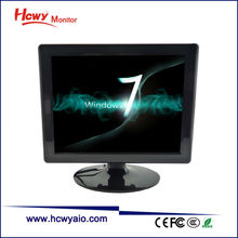 OEM & ODM 17 inch Desktop TFT LCD VGA Monitor With RCA Input With 3 Years Guarantee