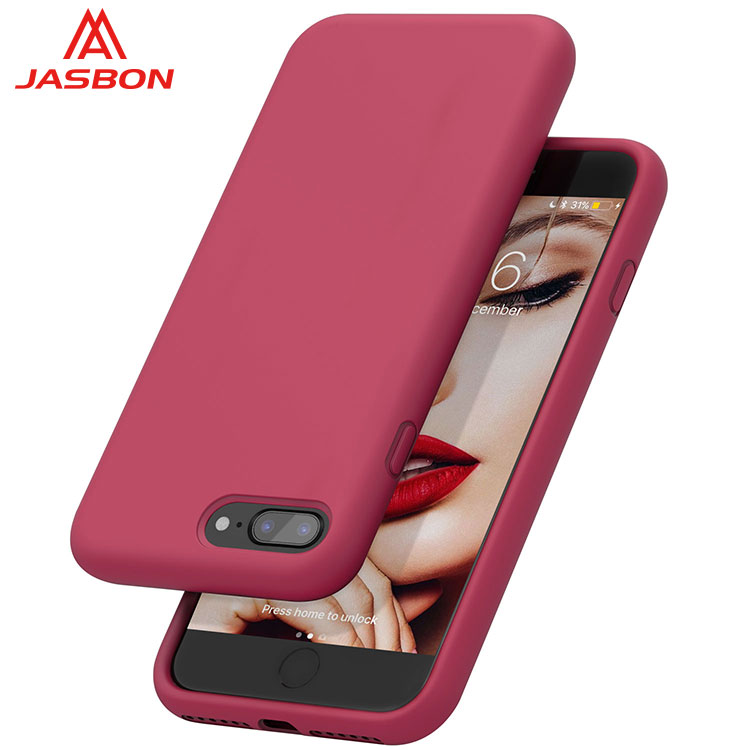 JASBON silicone full-protective thicken smart phone case for iphone 7/8 PLUS