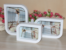 Wholesale MDF Picture Frame Photo Frame Free design high transparency clear square acrylic photo frame