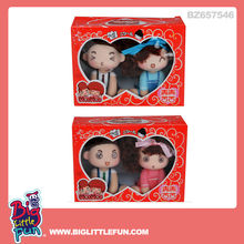 9cm wedding toys couple doll toys ddung