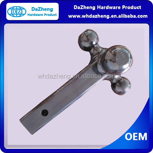 Trailer hitch drop tow bar/Hitch Ball Mount for different ball size