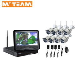 cctv cameras wireless remote control 8 channel long range wireless cctv camera system