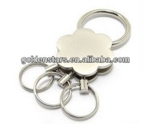 New Designer 2013 Aspire Novel Plum Blossom quick release Keyring With Removable Rings