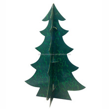 Christmas Tree Shaped Promotional Cardboard Pallet Display