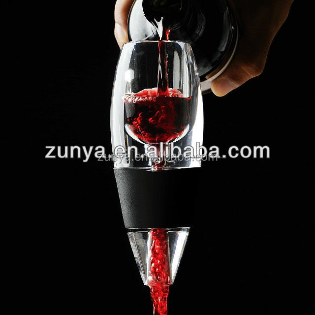 Wine Aerator Decanter - Premium Aerating Pourer, The Perfect Wine Accessories Gift Set For Her or Him