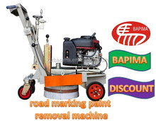 Road thermoplastic Marking paint remover/removal(remove Machine)/ Strips Thermoplastic Convex Screeding Marking Machine