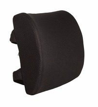 Memory foam Lumbar Support Pillow With Dual Premium Adjustable Straps Memory Foam Cushion