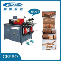 Three in one copper bus bar cutting bending machinery