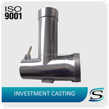 investment casting stainless steel meat grinder part