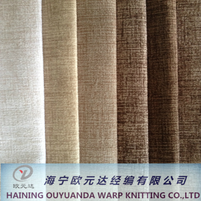 Haining Variety Bonded with TC Printed Simple Pattern Style Super Soft Sofa Fabric for Home Textile