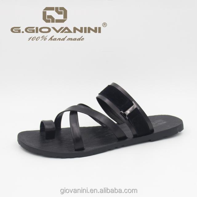 New men's outdoor slipper custom logo sandals Italy style office slippers for men