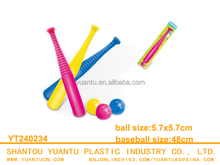 kids baseball set wholesale baseball bats plastic toy
