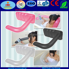 Hands Free Inflatable phone holder Bath pillow, Hold phone in bathtub Inflatable bath pillow