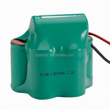 Cordless Phone battery Ni-Mh C 4000mAh 7.2V Rechargeable battery pack