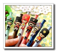 cute soldier design roller ball pen,ball point pen
