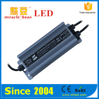 12v/24v waterproof 120w constant voltage led power supply