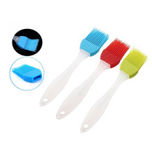 New Design Heat Resistant food grade Silicone Basting Pastry Brushes bbq brush