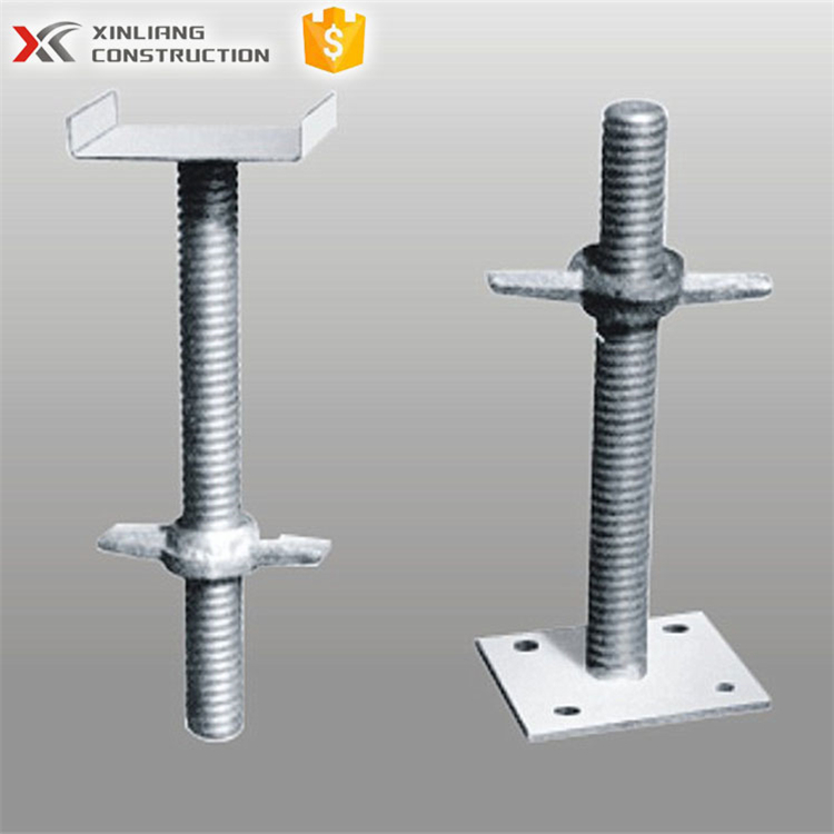 construction 60cm scaffolding adjustable shoring props screw u head jack for sale