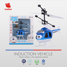 TXD366-3Cute and popular, high quality LED infrared induction helicopter model helix helicopter flying children's toy