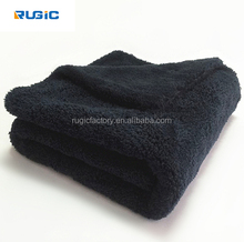 500GSM High Quality Premium Car Towel Soft Edgeless Microfiber Detailing Towel Perfect For Car