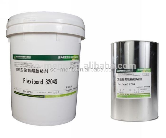 High Bonding Strength Double Part Urethane Adhesive to produce heat wall panels