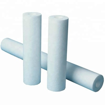"5 Micron 10"" PP Sediment Filter Cartridge Water Filter Spun Filter Cartridge"