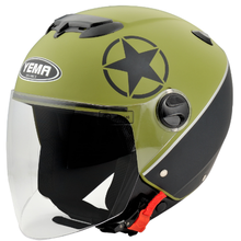 ECE R 22.05 approved German style cheap price open face motorcycle helmet