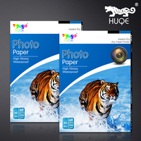 Hot selling HUQE high glossy waterproof 200gsm 4R inkjet photo paper