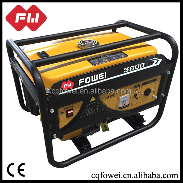 190f battery operated home petrol generator for sale