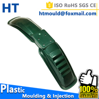 Motorcycle mudguard spare parts plastic injection moulding, plastic injection mould manufacturer